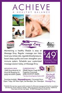 Massage Envy Generated Advertisement