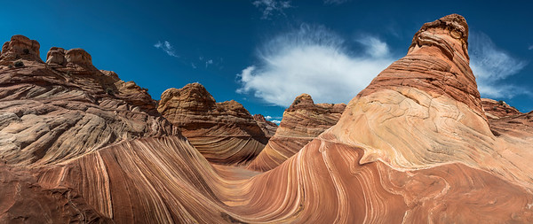 Huge file: A panormaic view of The Wave