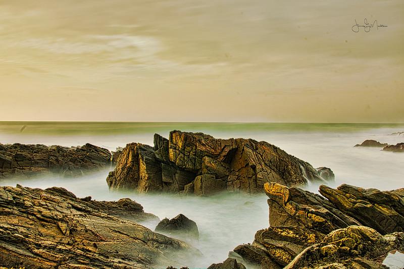 Calming the ocean