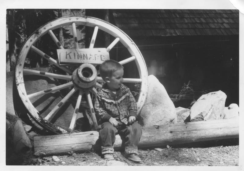 Mike Jagla at Owen E. Kinnard Cabin Lake Wenatchee