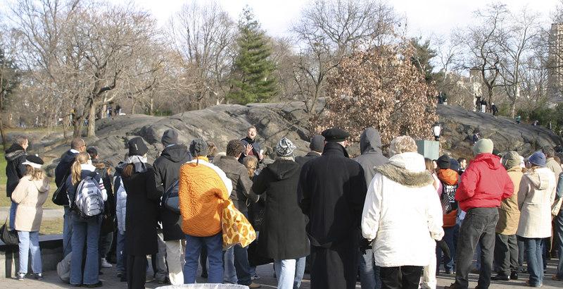Central Park, New York, December 2003