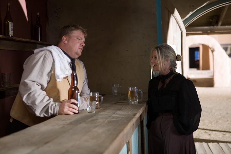 Carol is a Barmaid!
