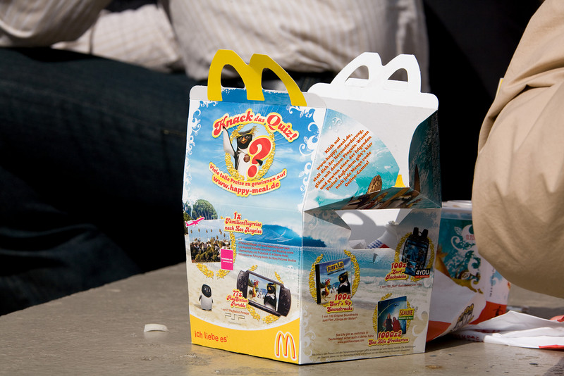 A Luxembourg Happy Meal !