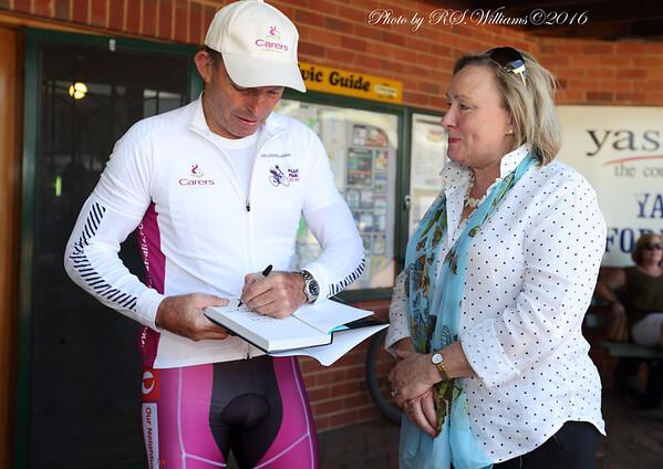 Tony Abbott and Rowena Abbey