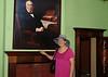 Jenny Watson visiting Cooma Cotage