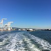 Taking the ferry from Oakland to SF