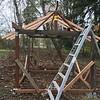 Creative way to secure roof ridgeboard