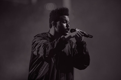 The Weeknd live at The Palace of Auburn Hills on 5-24-17.  Photo credit: Ken Settle