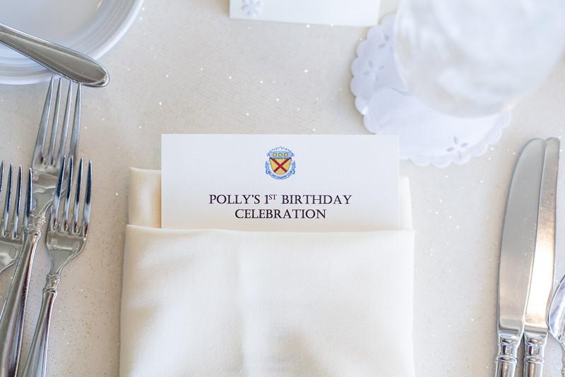 Polly Weg's 1st Birthday