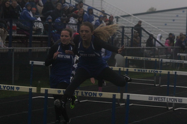 The West Lyon track and field Invitational