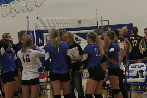 The West Lyon volleyball tournament 8-22-17