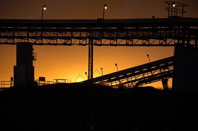 Saskatchewan coal mine.