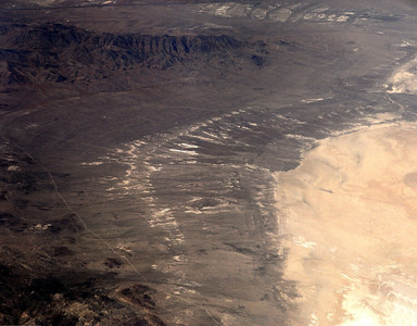 Dry Lake Bed - Panorama