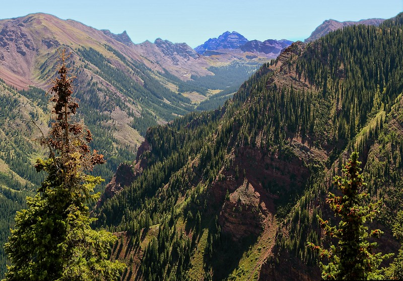 Maroon Bells from Snowmass