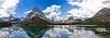 Serene Swiftcurrent Lake