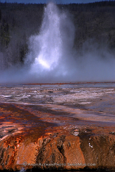 Sunset Lake Geyser, Yellowstone NP