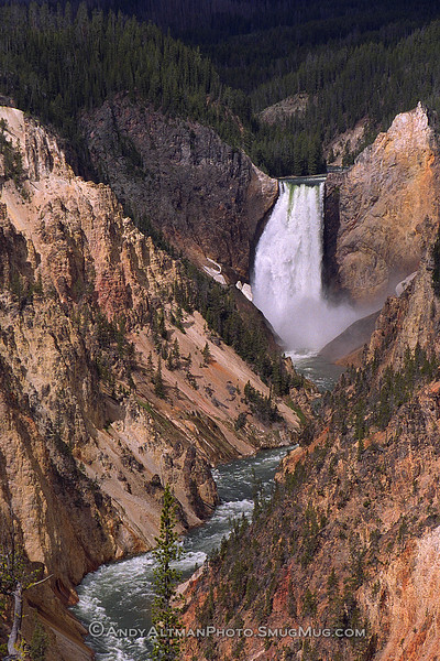 Lower Falls of the Yellowstone (2)