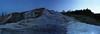 Pallette Spring & Half Moon at Dusk