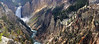 Yellowstone Lower Falls Panorama