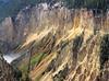 Yellowstone Canyon - Sulfurous Walls 1,200 ft deep