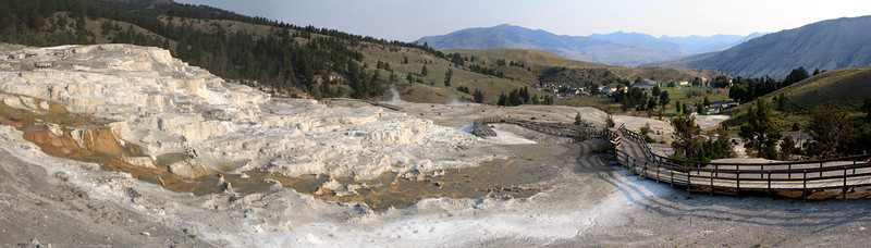 Mammoth Hot Springs - Cold Terrace