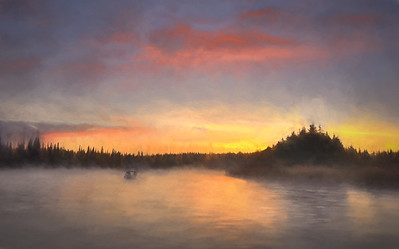 Kenai Morning Mist