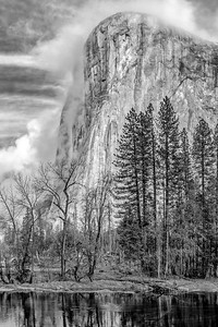 El Capitan in Black and White