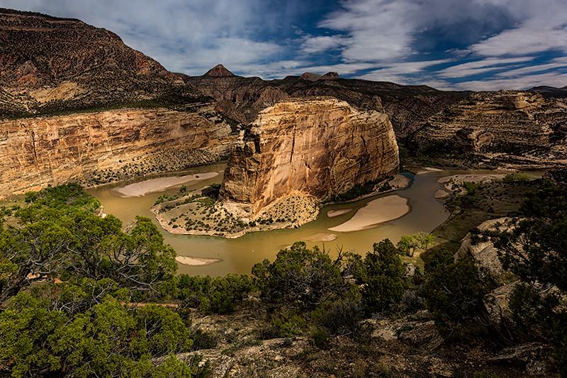 Steamboat Rock, Dinosaur National Monument, Colorado
