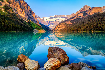 Lake Louise Rocks
