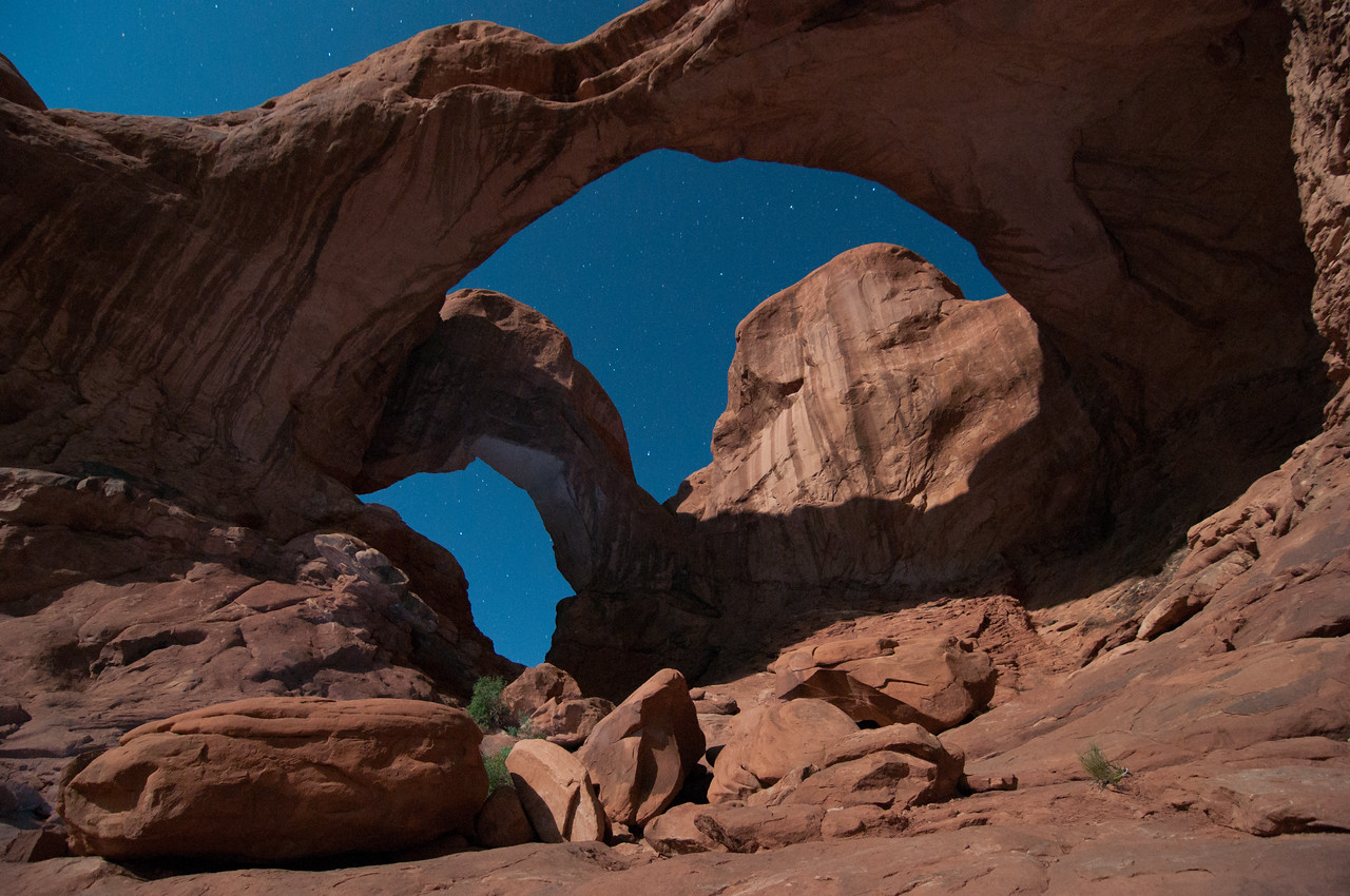 Double Arch-Arches National Park, Utah