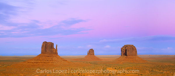 Pink Monument Valley