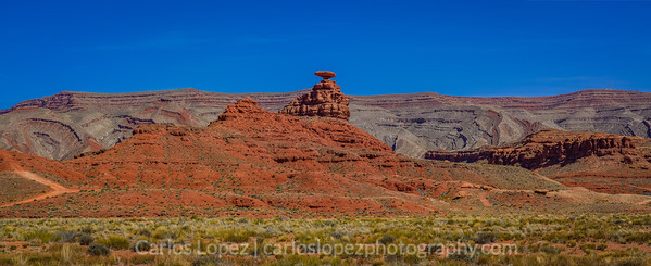 Mexican Hat Panorama