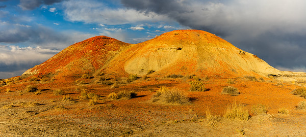 Red Mounds of Bisti