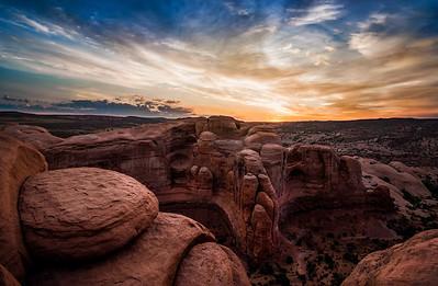The Sandstone Turrets Awaken