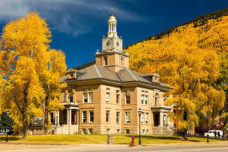Courthouse, Silverton, Colorado