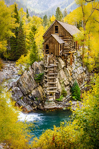 Changing Colors at the Crystal Mill