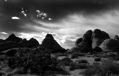 """Afternoon Splendor"" Arches National Park. Southwest Utah."