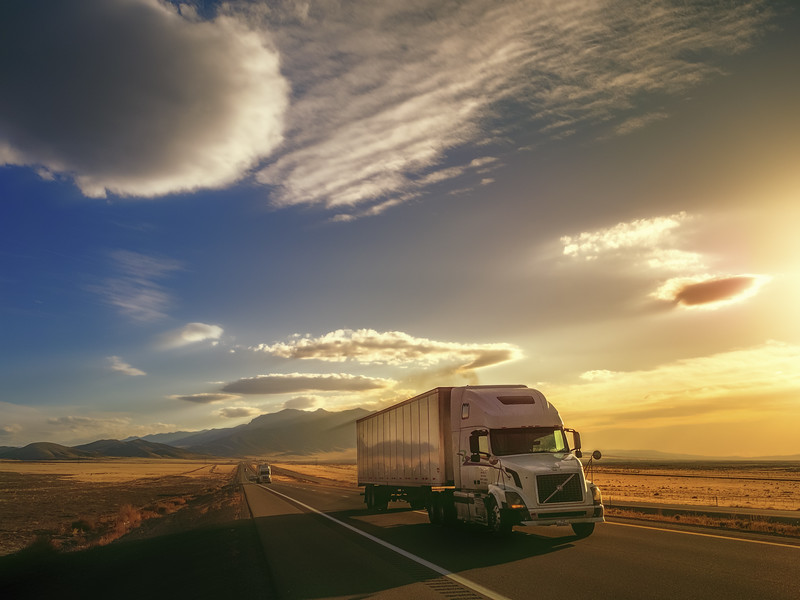 Trucking Across Nevada