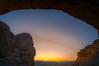 Window Arch Sunrise