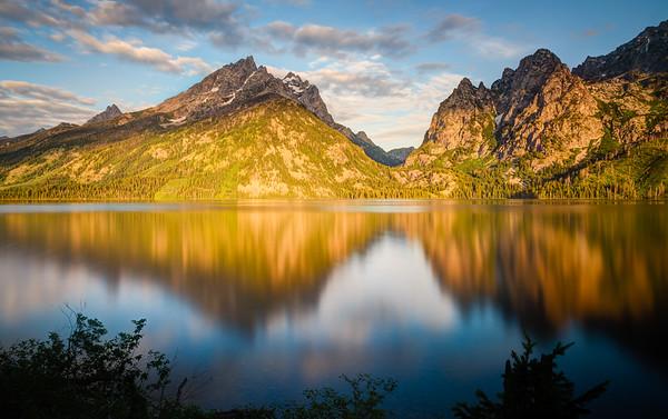 Dawn at Jenny Lake