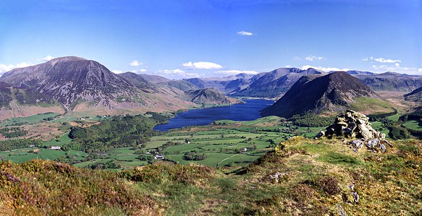 Walt Poucher's 'Finest View In The Lake District'