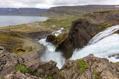 Iceland is famous for its waterfalls and the Westfjords are not to be left out with Dynjandi clamouring for attention