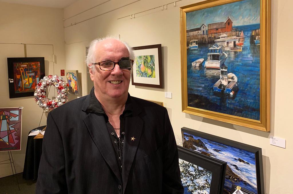 . Lowell artist Tom Gill