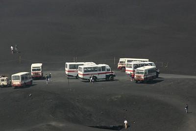 Mt Etna taxi rank