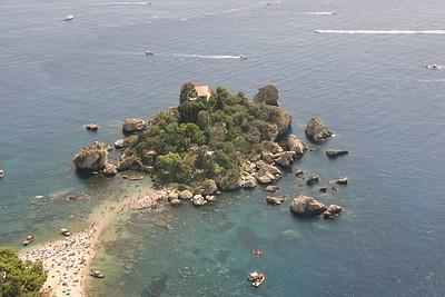 Taormina, Isola Bella