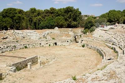 Syracuse, Roman Amphitheatre
