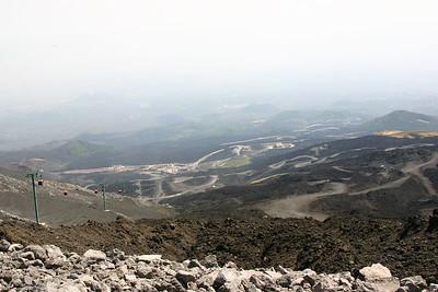 Slopes of Mt Etna