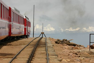 Next stop - oblivion. Pikes Peak