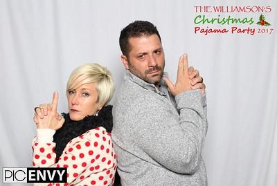 The Williamson's Pajama Christmas Party 2017