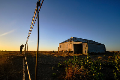 Old shed at Murra Warra